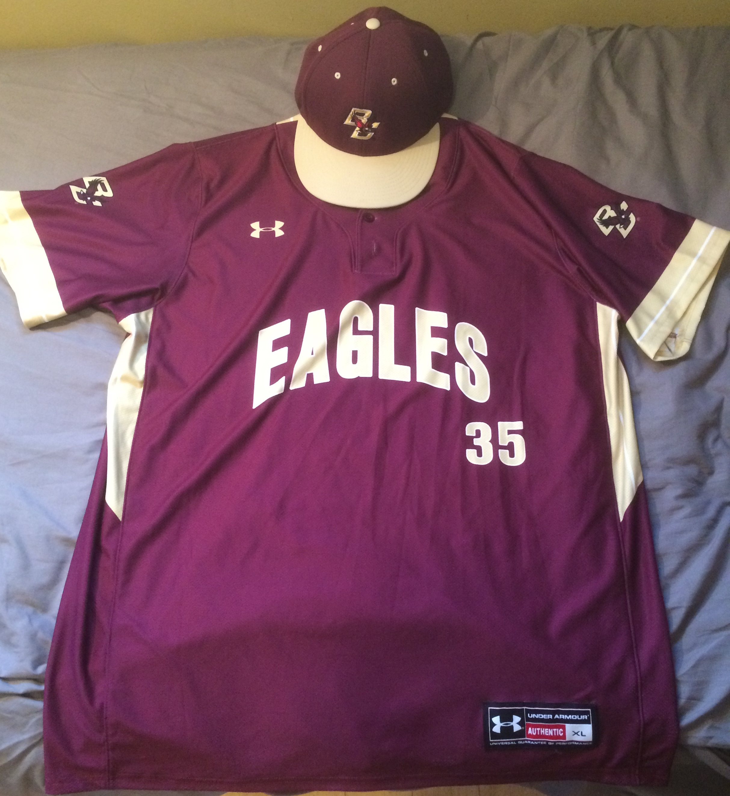 3d713868 Eagles Unveil New Jerseys for Spring Season – Boston College Club ...